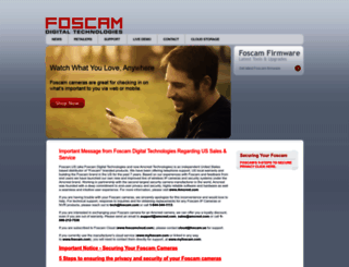 foscam.us screenshot