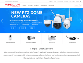 foscamuk.co.uk screenshot