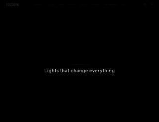 foscarini.com screenshot