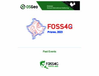 foss4g.org screenshot
