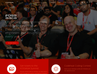 fossasia.org screenshot