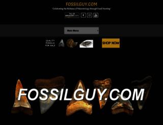 fossilguy.com screenshot