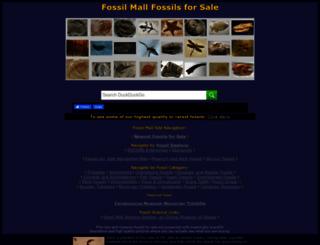 fossilmall.com screenshot