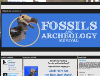 fossils.enjin.com screenshot