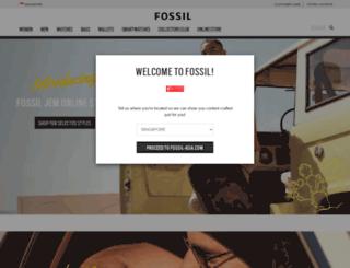 fossilsingapore.com.sg screenshot