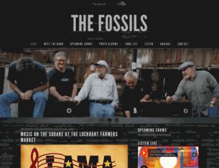 fossilsrock.com screenshot