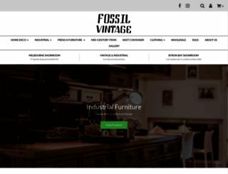 fossilvintage.com.au screenshot