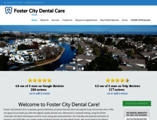 fostercitydental.com screenshot