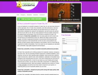 fostercitylocksmiths.biz screenshot