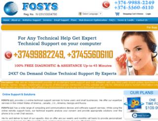 fosysllc.com screenshot