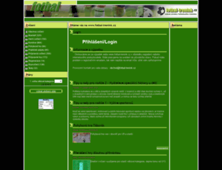fotbal-trenink.cz screenshot