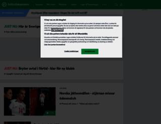 fotbollskanalen.se screenshot
