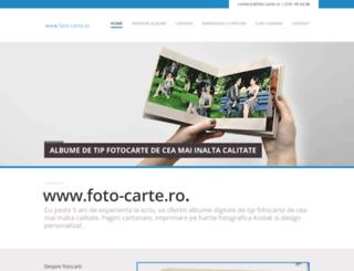 foto-carte.ro screenshot