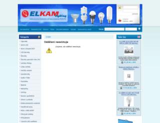 foto-ramecky.elkam.cz screenshot