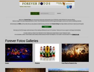 foto.foreverliving.com screenshot