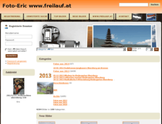 foto.freilauf.at screenshot