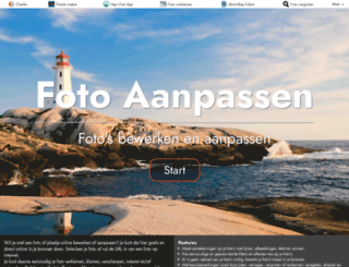 fotoaanpassen.nl screenshot