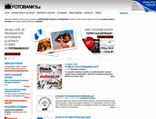 fotobanky.cz screenshot
