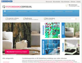 fotobehangcenter.nl screenshot