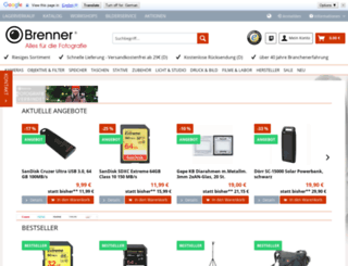 fotobrenner.de screenshot