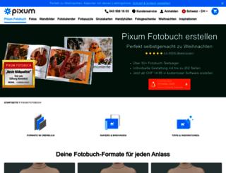fotobuch.pixum.ch screenshot