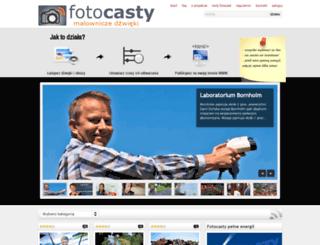 fotocasty.pl screenshot