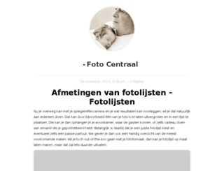 fotocentraal.nl screenshot