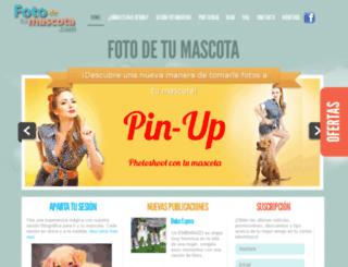 fotodetumascota.com screenshot