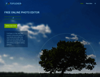 fotoflexer.com screenshot