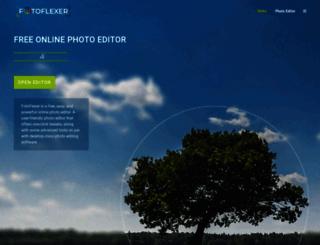 fotoflexer.com screenshot