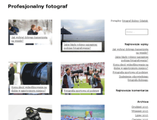fotograf-krzeszowice.pl screenshot
