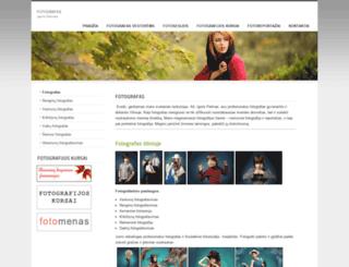 fotografas.name screenshot