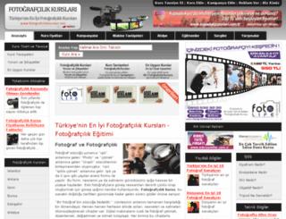 fotografcilikkurslari.net screenshot