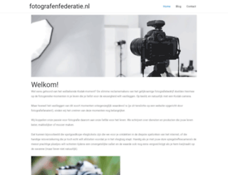 fotografenfederatie.nl screenshot