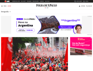 fotografia.folha.uol.com.br screenshot