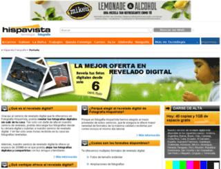 fotografia.hispavista.com screenshot