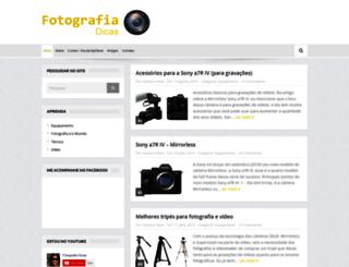 fotografiadicas.com.br screenshot