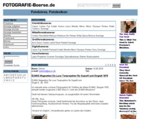 fotografie-boerse.de screenshot