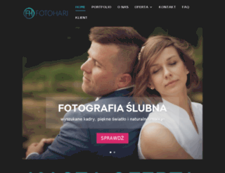 fotohari.pl screenshot
