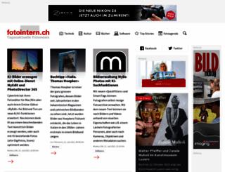 fotointern.ch screenshot