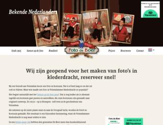 fotoinvolendamkostuum.nl screenshot