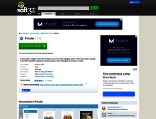 fotojet.soft32.com screenshot