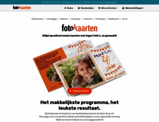 fotokaarten.nl screenshot