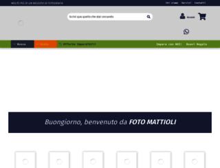 fotomattioli.com screenshot