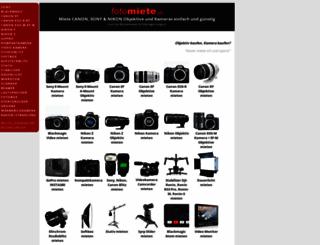 fotomiete.ch screenshot