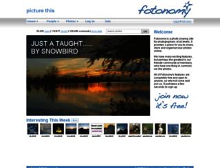 fotonomy.com screenshot