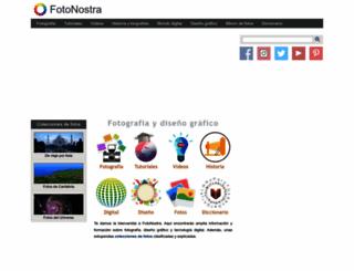 fotonostra.com screenshot