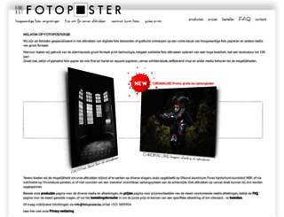 fotoposter.be screenshot