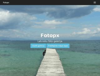 fotopx.lv screenshot