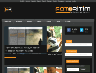 fotoritimdergi.com screenshot